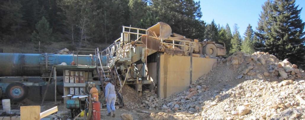Montana Yogo Sapphire mine.