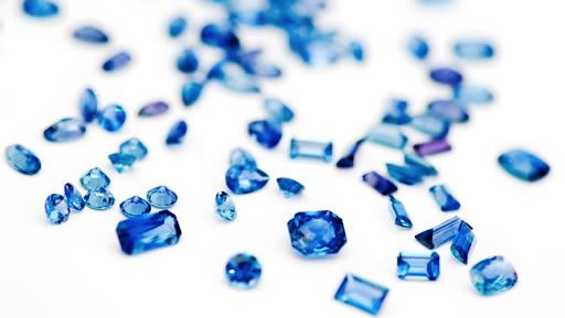 perfect crystalline shape Montana Yogo sapphires are rare gems