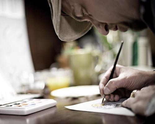 Fowler Sketching @ Elichai Fine Jewelry