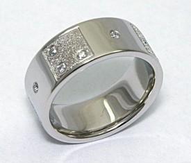 Custom braille engraved wedding band - Designed by Elichai
