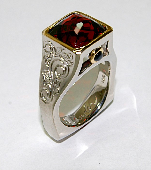 Regal Custom Cut Gypsy Rose Garnet