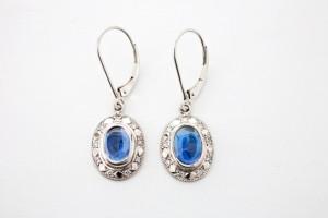 Montana Yogo Sapphires Earrings