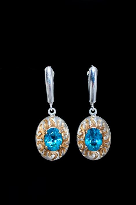 Winter Solstice earrings