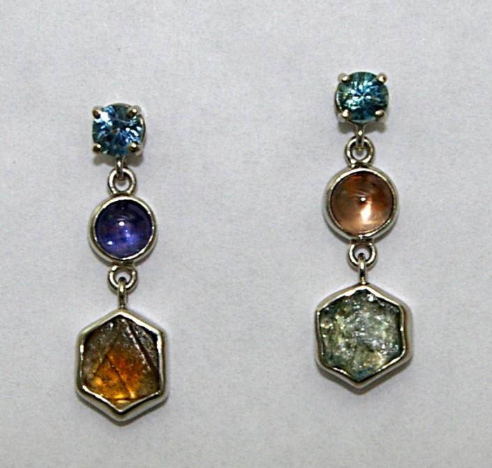 Eastern Fire Earrings