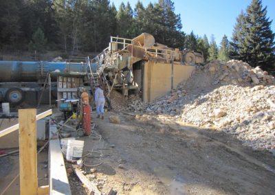 excavation of Yogo Sapphire in Montana