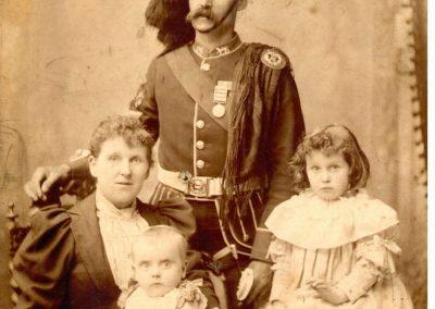 Father in regalia.