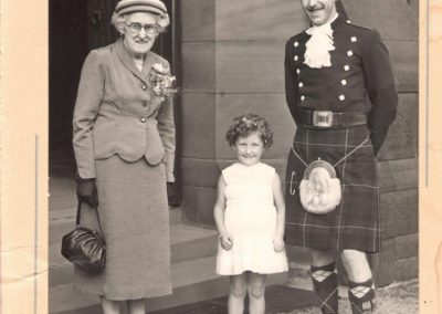 Client's family in Scotland.