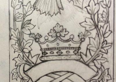 Family emblem.