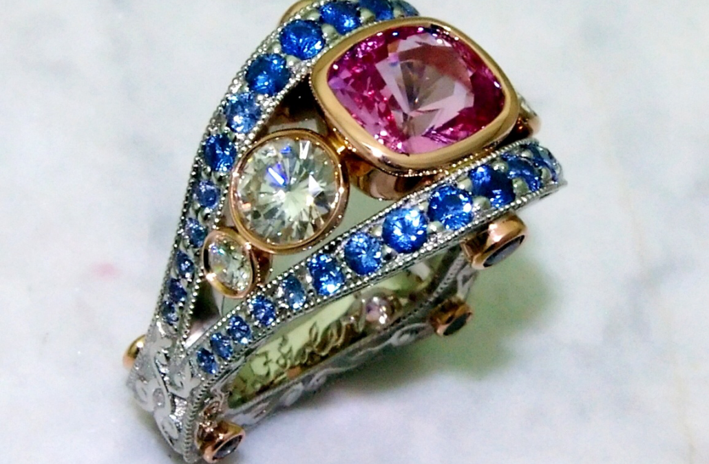 Pink Sapphire Rings and Jewelry