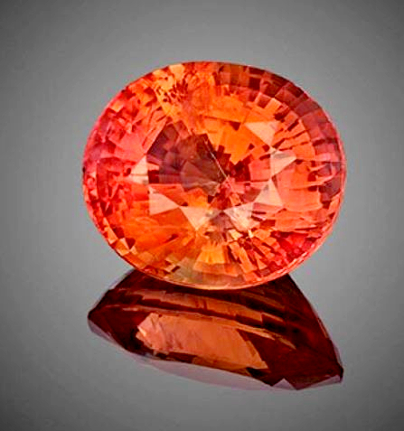 Padparadscha Sapphire Loose Stone