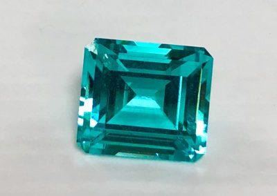 Paraiba Emerald Cut