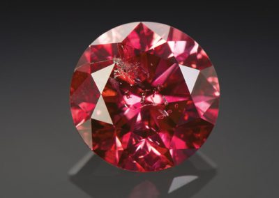 Round Red Diamond