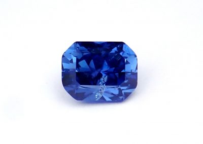 1.08ct Radiant Montana Yogo Sapphire